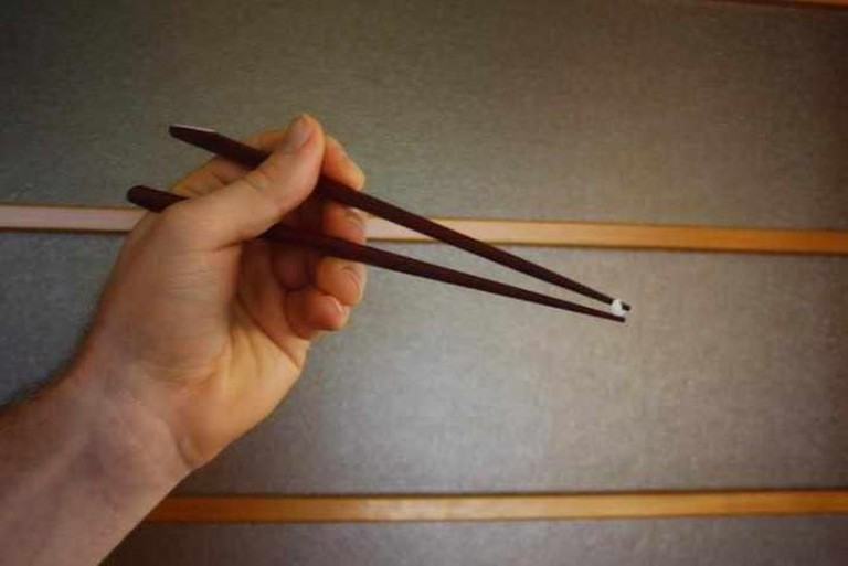 Chopstick Positions Have Meaning