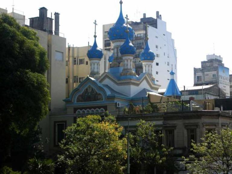 Russian Orthodox Church, Parque Lezama | Ⓒ Skellig2008/Flickr