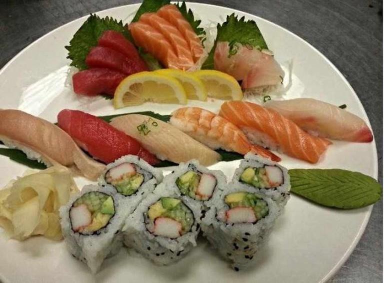Sushi Platter | Courtesy of Ah-Hai Sushi & Grill