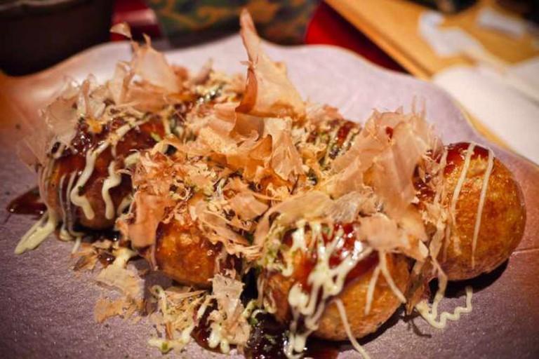 Happa Tei : takoyaki & onomiyaki l © Mathieu Lebreton/Flickr