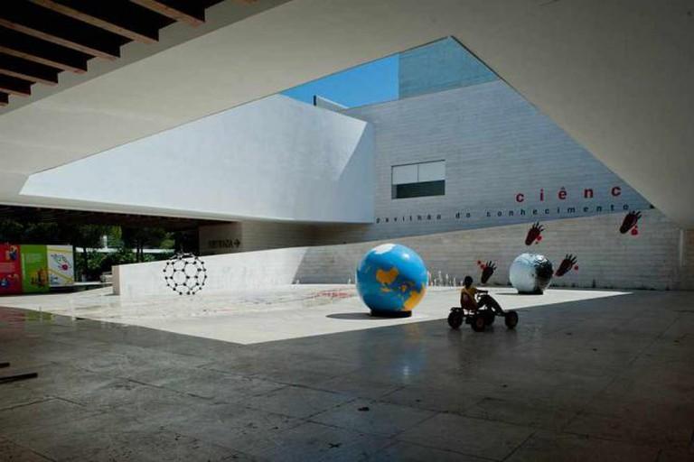 Pavilhão Do Conhecimento Dos Mares João Luís Carrilho da Graça