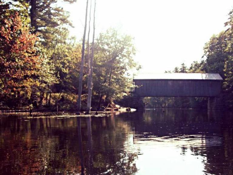 Presumpscot River, Covered Bridge
