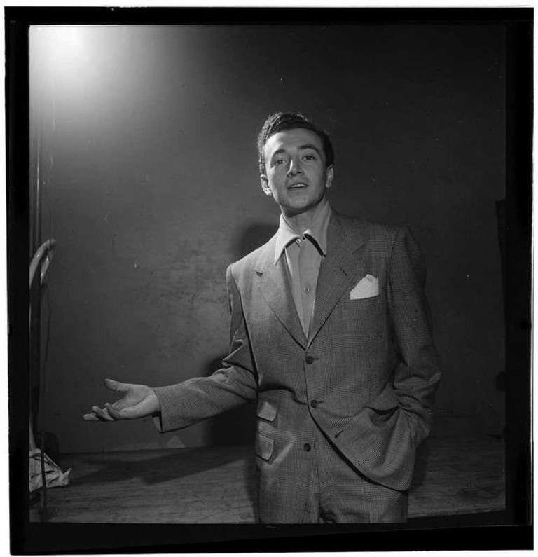 Vic Damone portrait | © The Library of Congress/Flickr