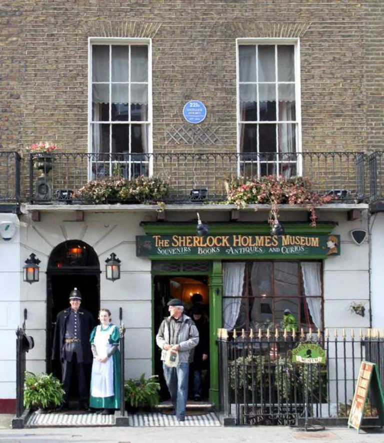 Sherlock Holmes Museum Exterior | © The Sherlock Holmes Museum