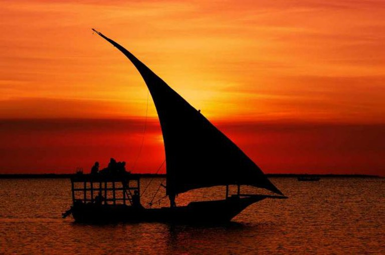 Of sunsets and dhow boats / Courtesy of Kate Gathii