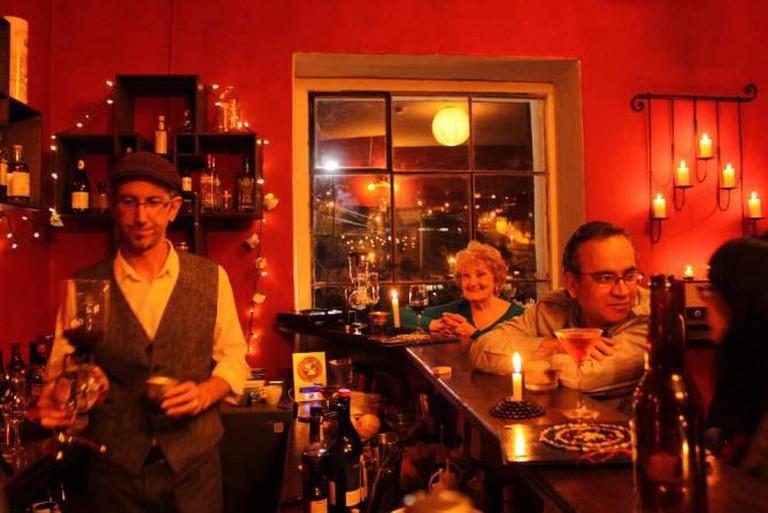 The Bar of La Cuchara de San Marcos