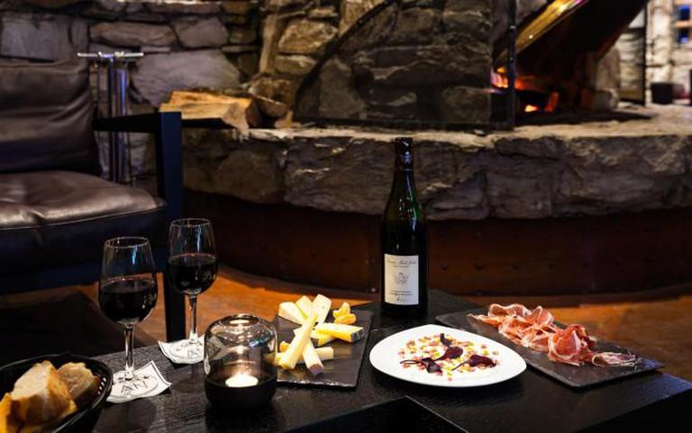 Lounge bar, Hôtel l'Aigle des Neiges