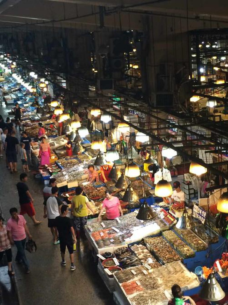 Noryangjin Fish Market. Author's own image.
