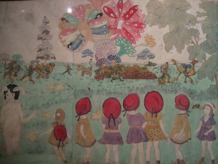 "A Beautiful Moment in Henry Darger's ""Vivian Girls"""