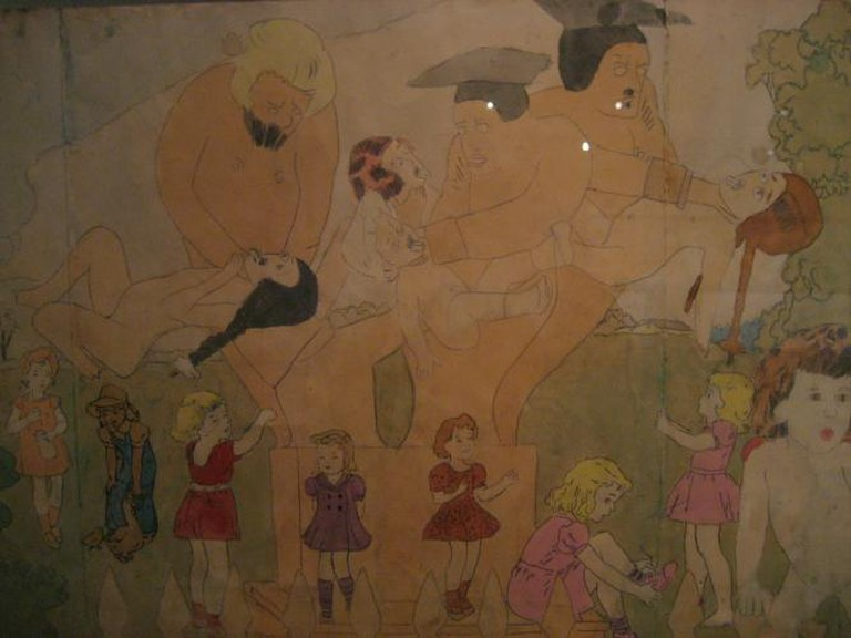 "Henry Darger's ""Vivian Girls"