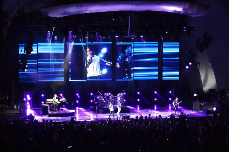 Journey in concert at Hollywood Bowl in L.A.