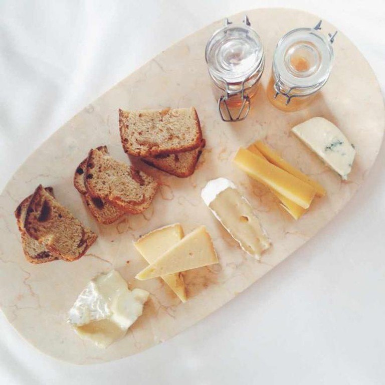 Cheese platter at L'Espalier