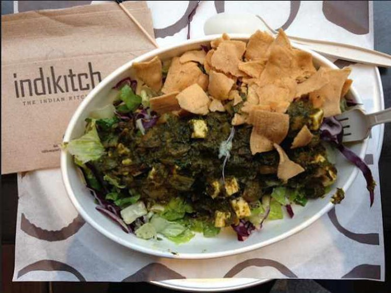 Saag salad from indikitch   © Emilia/Flickr