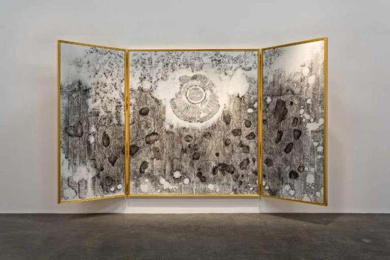 Nadia Kaabi-Linke, Altarpiece 2015 | Courtesy of Lawrie Shabibi Gallery and the Artist