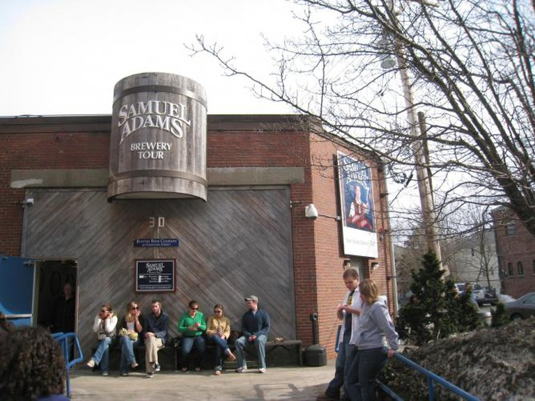 Sam Adams Brewery Tour