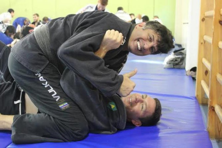 Black belts Lucas and Sami | © ZestyUrbanJiuJitsu