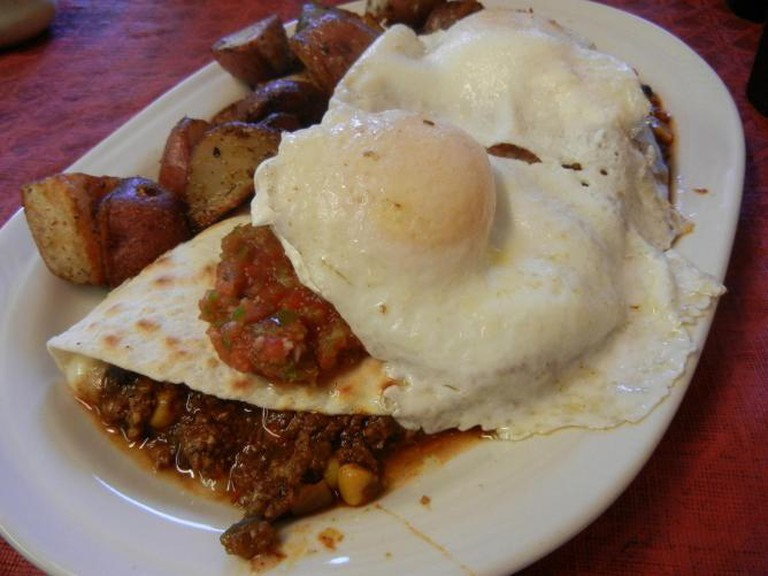 Huevos Rancheros at Bayou Kitchen