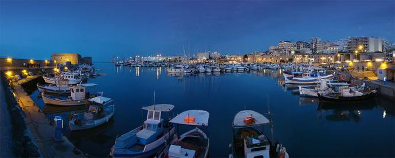 Heraklion port | © Tango7174/WikiCommons