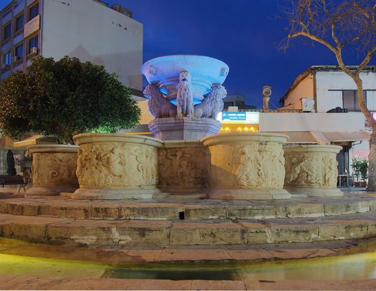 Morosini fountain, Heraklion | © C messier/WikiCommons