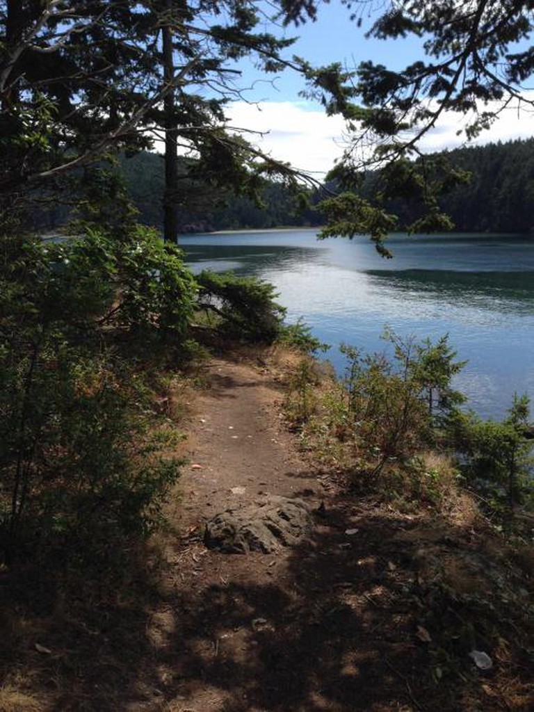 View from the trail at Deception Pass State Park