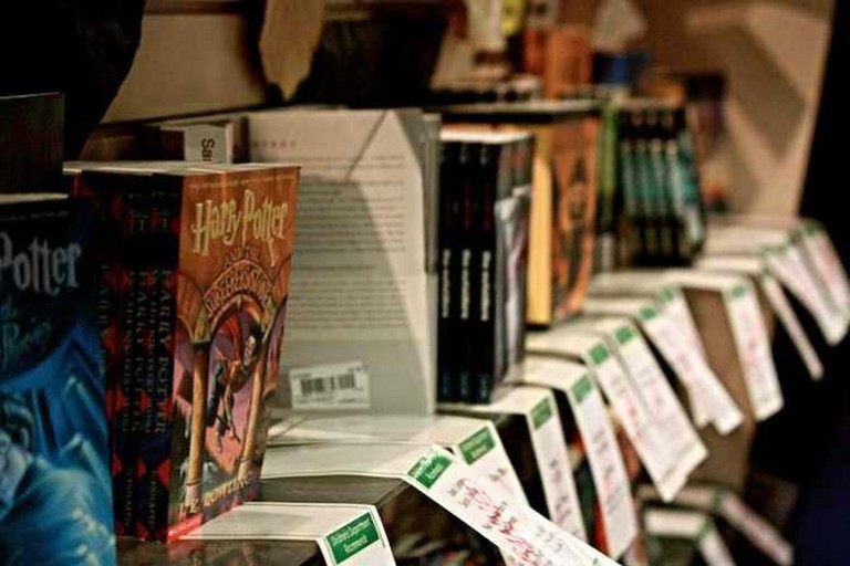 Banned Books at Vroman's Bookstore | © John Nakamura Remy/Flickr