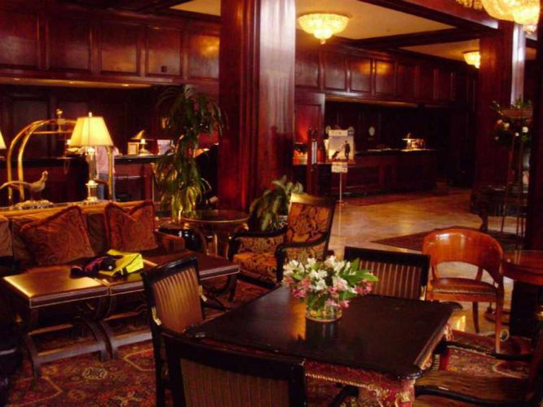 Lobby of the Benson Hotel, Portland, OR