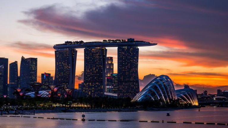 Singapore skyline | © Mac Qin/Flickr
