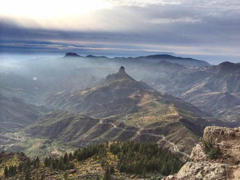 View from El Roque Nublo