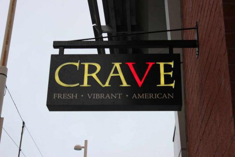 CRAVE sign