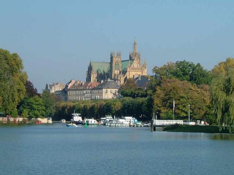 Plan d'Eau du Saulcy, Metz | © Sebcaen/WikiCommons