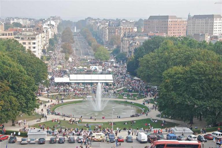 View from Parc du Cinquantenaire | © Stephane Mignon