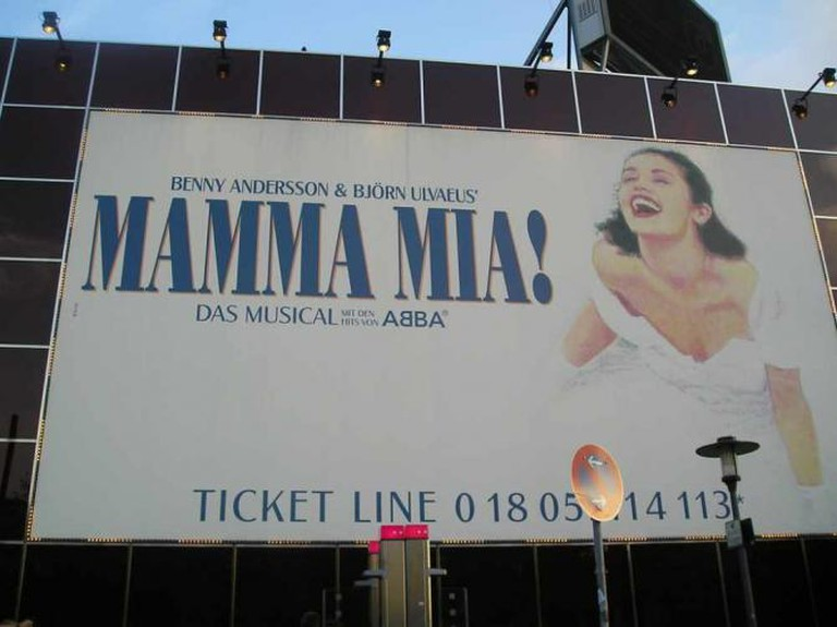 Mamma Mia billboard | © Edgar Zuniga Jr./Flickr