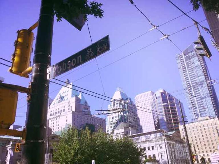 Robson Street | Courtesy of Olga Lenczewska