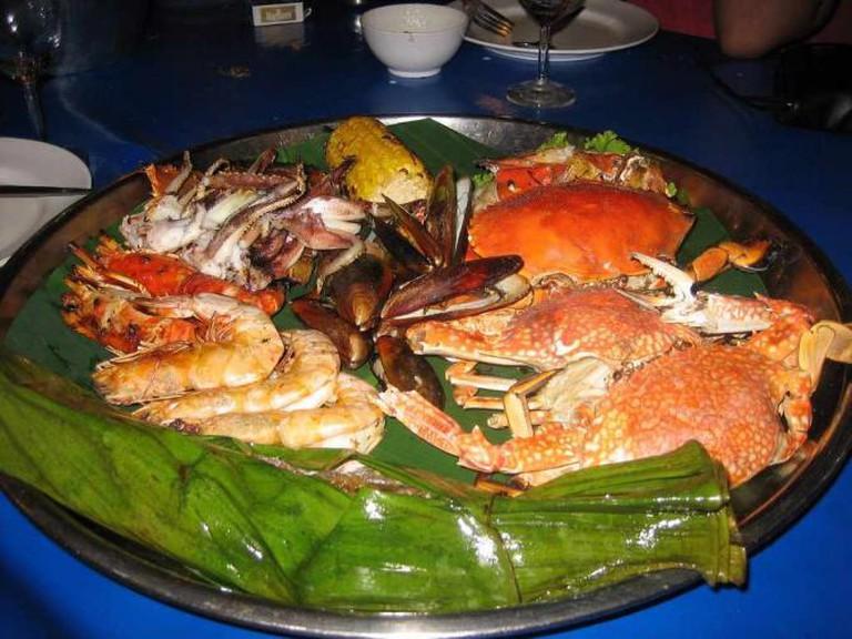 Vietnamese Seafood Platter | © Greg Walters/Flickr