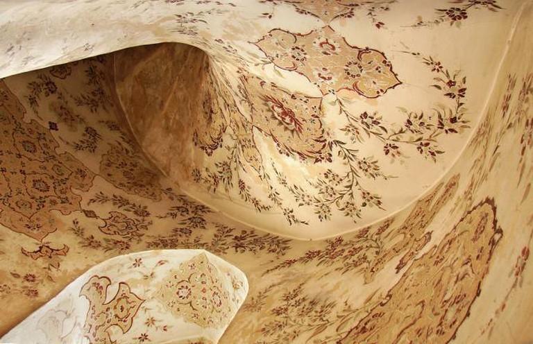 Interior of Ali Qapu