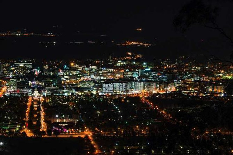 Canberra by night