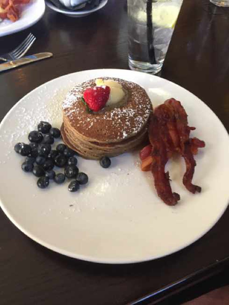 Cinnamon Buckwheat Pancakes | Courtesy of James Kerr