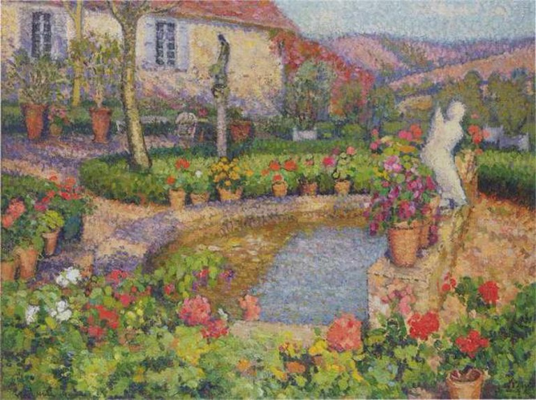 Ma Maison et Ma Jardin - Henri Martin © Irina/Flickr