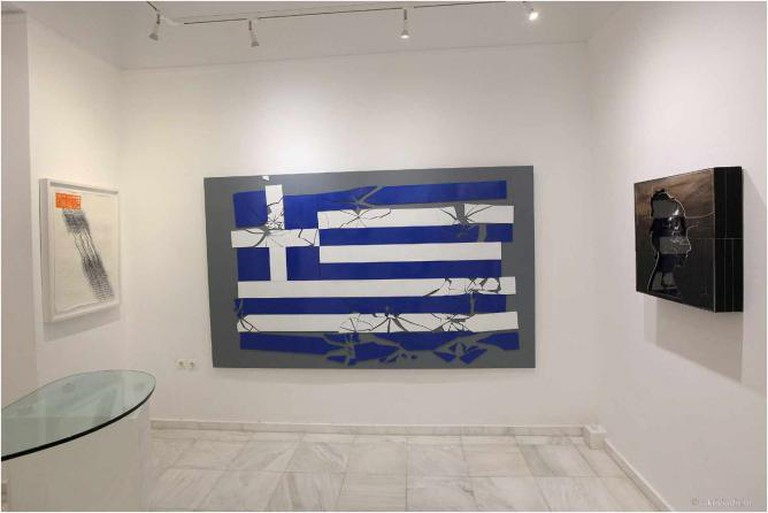 Costas Varotsos, Gallery Citronne, 18 June-13 July 2011 | Courtesy of Citronne Gallery