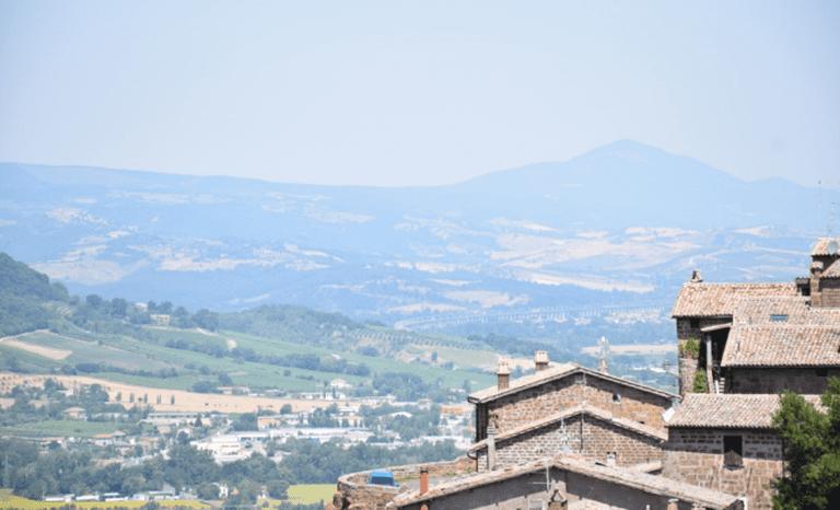 View from Orvieto