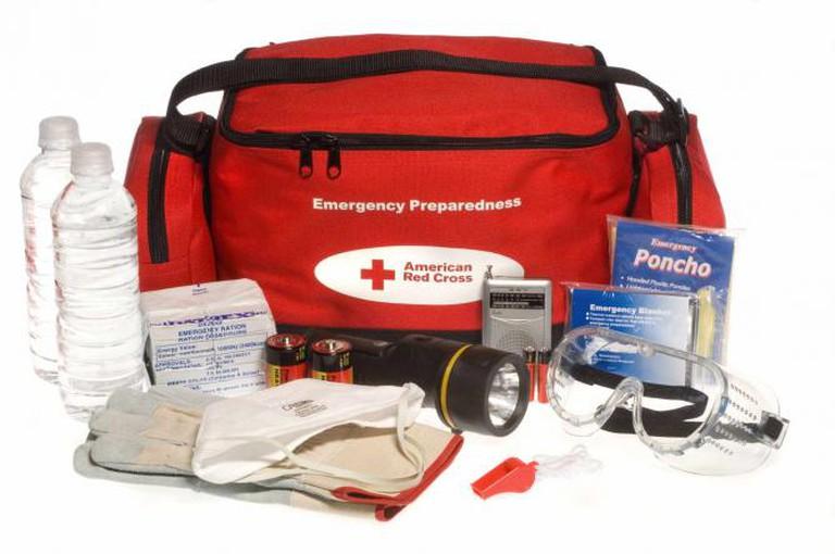 'Ready to go' preparedness kit | © FEMA Photo Library/WikiCommons