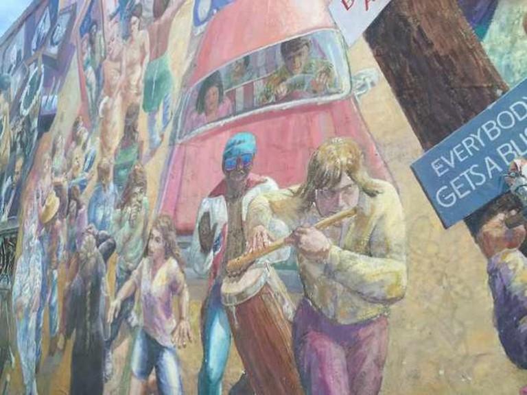 Berkeley Haste St. Mural | © Chelsa Lauderdale