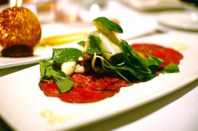Beef carpaccio | © ulterior epicure/Flickr
