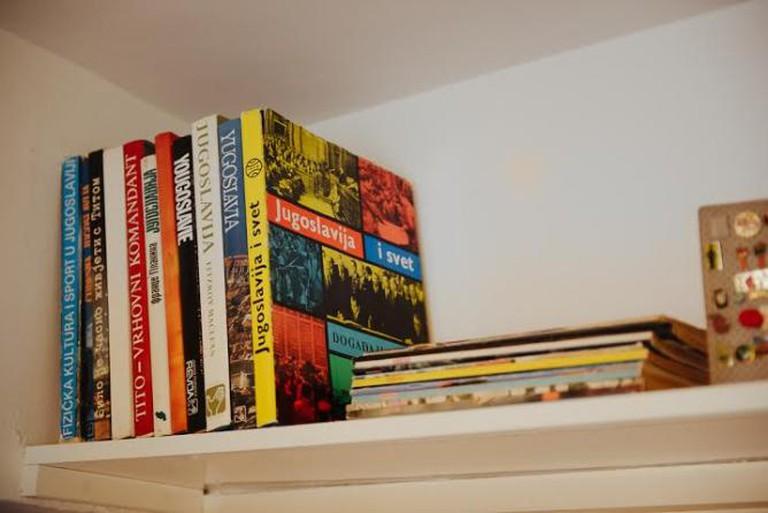 Books and memorabilia © Monika Pavlović