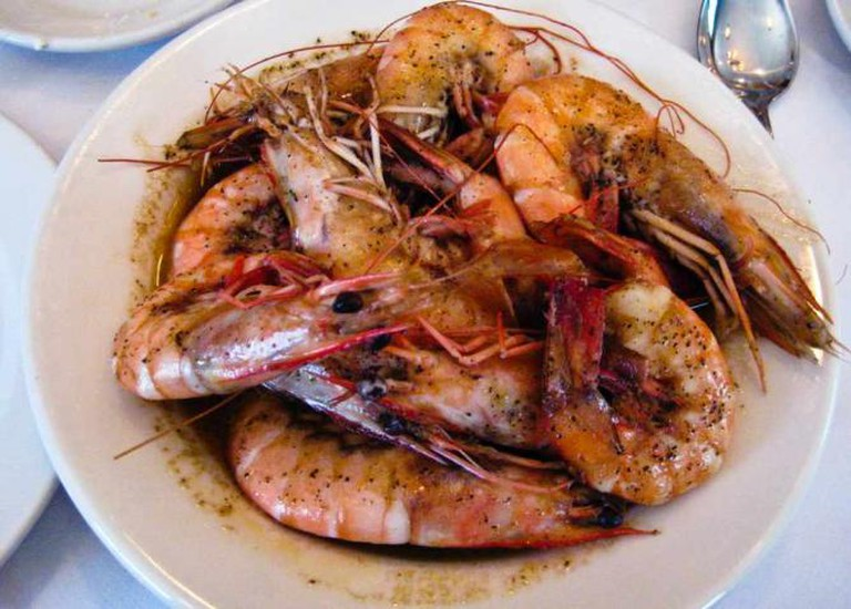Pascal's Manale BBQ shrimp | © Wiedz/Flickr