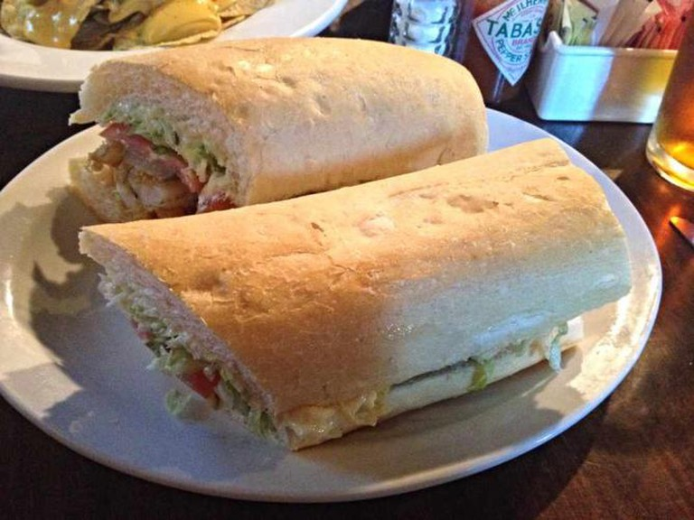 frankie & johnny's shrimp po boy l @ Krista/Flickr
