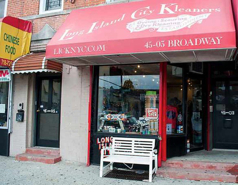 Street view of storefront | Image courtesy of Long Island City Kleaners