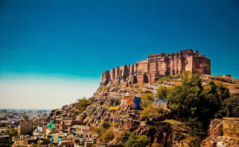 The Mehrangarh fort