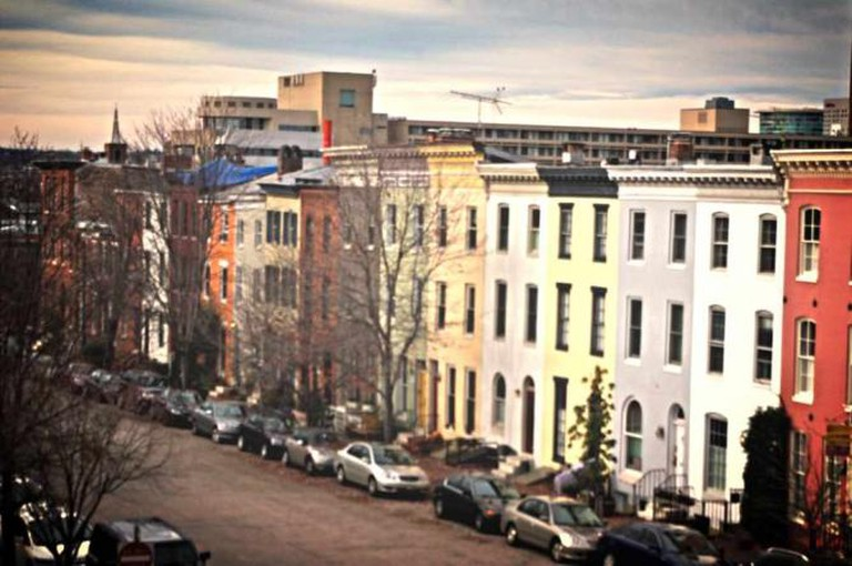 The Federal Hill district where Bluegrass Tavern is located.