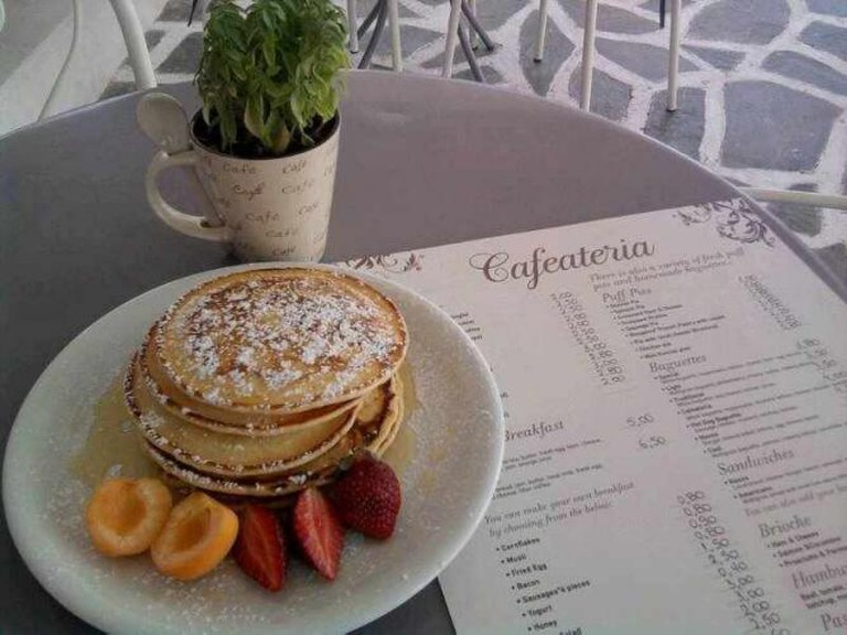 Cafaeteria pancakes | Courtesy of Cafeateria